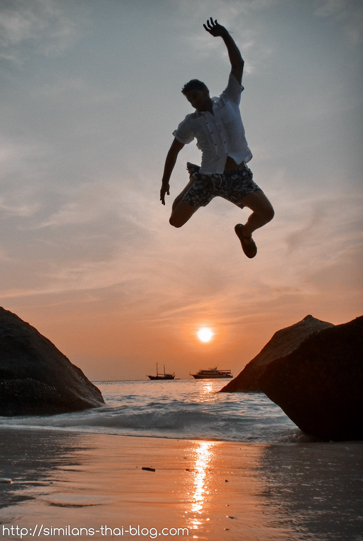 Sonnenaufgang Similan Insel