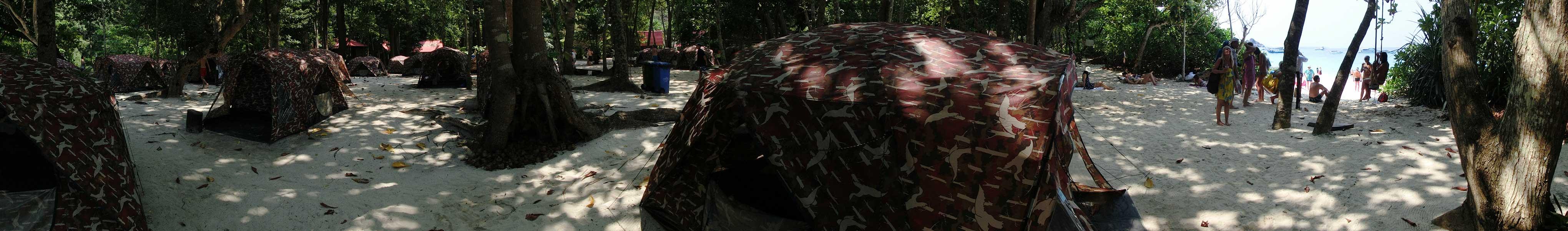 Camping auf Ko Miang