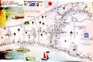 Karte von Phi Phi Don