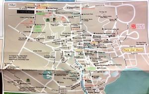 Karte von Phuket Stadt