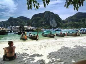 Ton Sai Bay auf Koh Phi Phi Don